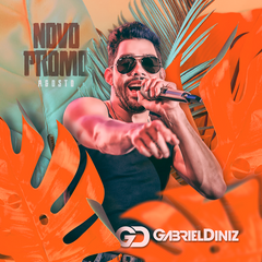 Capa do CD Gabriel Diniz - Promocional Agosto 2018
