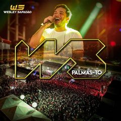Capa do CD Wesley Safadão - Palmas - TO (Repertório Novo)