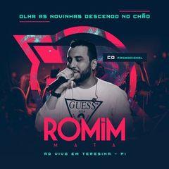 Capa do CD ROMIM MATA AO VIVO EM TERESINA PROMOCIONAL JULHO 2018