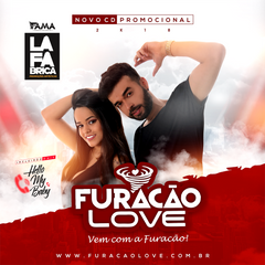 Capa do CD Furacao Love Promocional ao vivo 2019