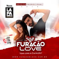 Capa do CD Furacao Love Promocional ao vivo 2019