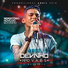 Capa do CD Devinho Novaes - Promocional Abril 2019