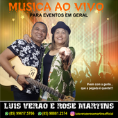 Luis Verao e Rose Martins