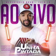 Capa do CD UNHA PINTADA - AO VIVO 2019.10