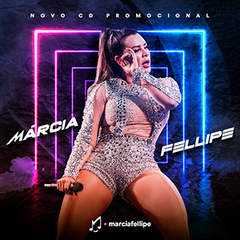 Capa do CD Márcia Fellipe - Abril 2019