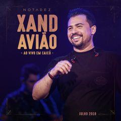 Capa do CD Xand Avião - Caicó-RN Julho 2018