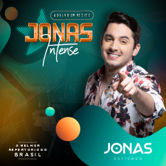 Capa do CD Jonas Esticado - Ao Vivo no Jonas Intense Recife - Out 2019