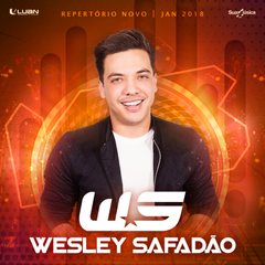 Capa do CD Wesley Safadão - Repertório Novo - Janeiro 2018