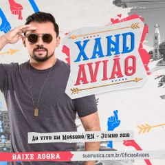 Capa do CD Xand Avião - Mossoró-RN Junho 2018