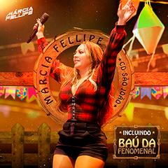 Capa do CD Márcia Fellipe - CD São João 2019