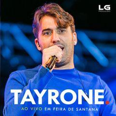 Capa do CD Tayrone Ao Vivo em Feira de Santana