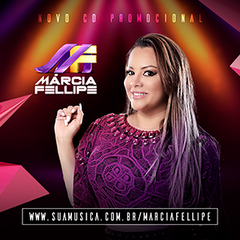 Capa do CD Márcia Fellipe (Novo CD Promocional 2018)