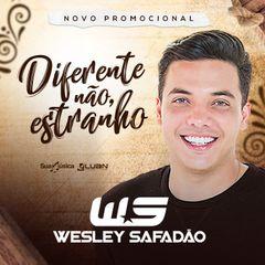 Capa do CD Wesley Safadão - Diferente Não, Estranho