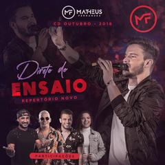 Capa do CD MATHEUS FERNANDES - DIRETO DO ENSAIO