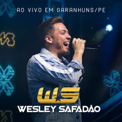 Capa do CD Wesley Safadão - Ao Vivo Em Garanhuns/PE (Repertório Novo)