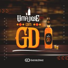 Capa do CD Gabriel Diniz - Uma dose com GD - 2019