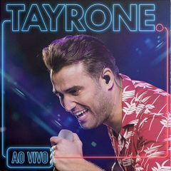 Capa do CD TAYRONE AO VIVO 2018