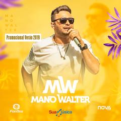 Capa do CD Mano Walter - CD Promocional de Verao 2019