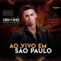 Capa do CD Devinho Novaes Ao Vivo em São Paulo Promocional de Abril