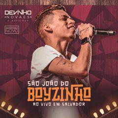 Capa do CD Devinho Novaes Ao Vivo em Salvador #SãoJoãodoBoyzinho