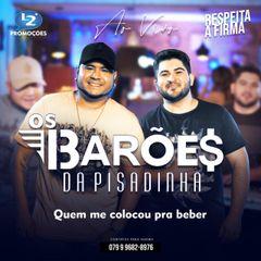 Capa do CD OS BARÕES DA PISADINHA PROMOCIONAL AO VIVO 2020