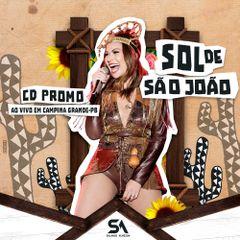 Capa do CD Solange Almeida ao Vivo em Campina Grande - PB 09-06-2019
