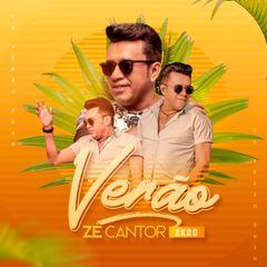 Capa do CD Ze Cantor #Verão 2K20 - Cd Promocional