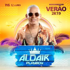 Capa do CD Aldair Playboy - Promocional Verão 2019