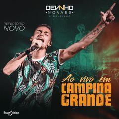 Capa do CD Devinho Novaes Promocional Ao Vivo em Campina Grande-PB
