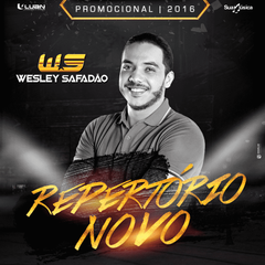 Capa do CD WESLEY SAFADÃO - REPERTÓRIO NOVO - PROMOCIONAL 2016