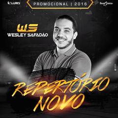 Capa do CD WESLEY SAFADÃO - REPERTÓRIO NOVO - PROMOCIONAL 2016