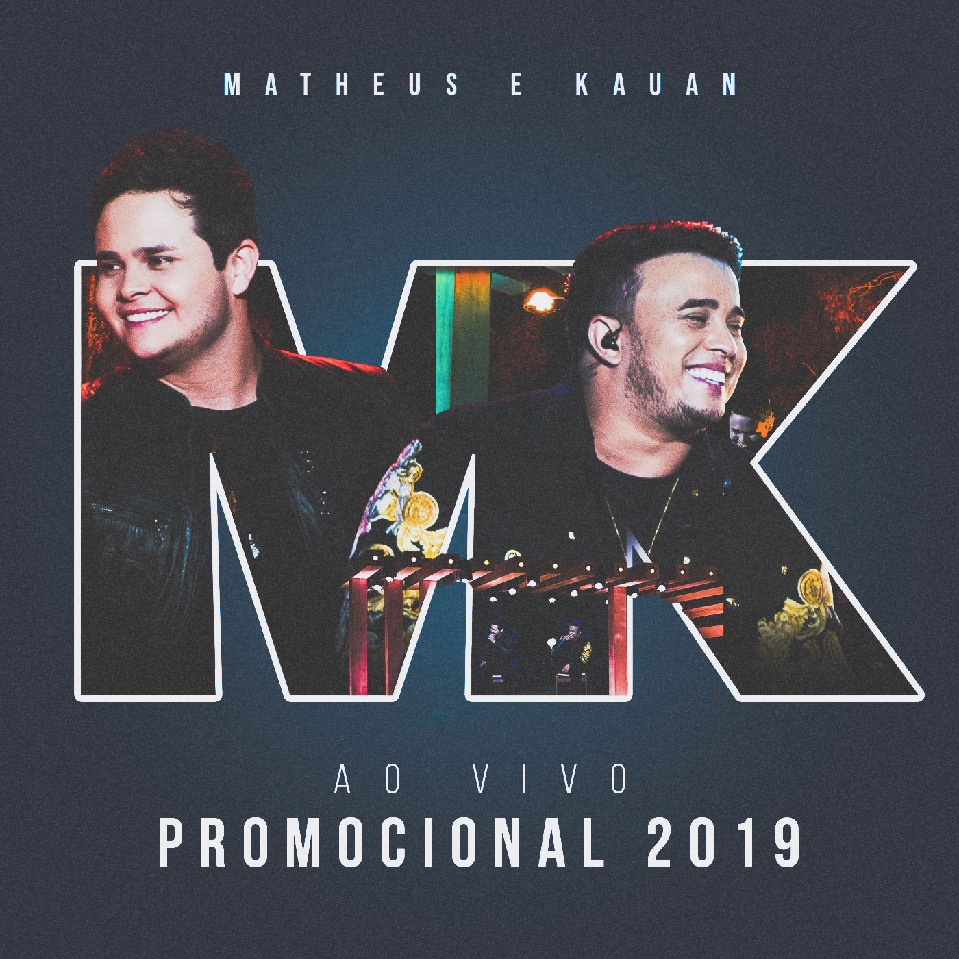 Capa do CD M&K - PROMOCIONAL 2019
