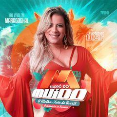 Capa do CD FORRÓ DO MUIDO - A HISTÓRIA SE RENOVA - ÁUDIO  DVD
