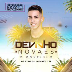 Capa do CD Devinho Novaes - Manari/PE ( Promocional Fevereiro )