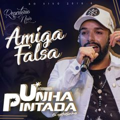 Capa do CD Unha Pintada - Amiga Falsa - Ao Vivo 2K18.08