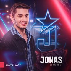 Capa do CD Jonas Esticado - Promocional Agosto 2018
